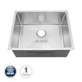 AMKS-6048 Undermount Single Bowl Kitchen Sink C/W S/S Waste