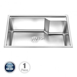 AMKS-654522 Single Bowl Kitchen Sink With S/S Waste