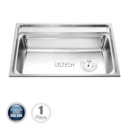 AMKS-784822 Single Bowl Kitchen Sink With S/S Waste