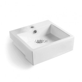 L-406 Semi-Recessed Countertop Basin