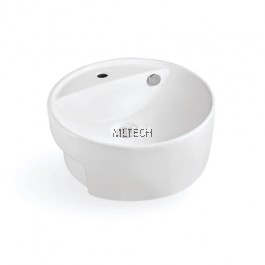 L-422 Semi-Recessed Countertop Basin