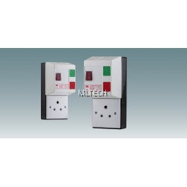 Plastic Enclosure Starter C/W Main Switch & Socket