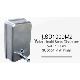 LSD1000M2 Pakai Liquid Soap Dispenser - Matt Finish