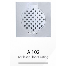 "A102 6"" Plastic Floor Grating"