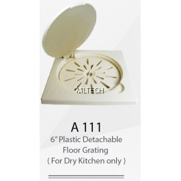 "A111 6"" Plastic Detachable Floor Grating (For Dry Kitchen Only)"