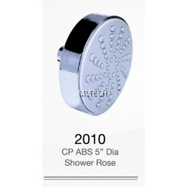 "2010 CP ABS 5"" Dia Shower Rose"
