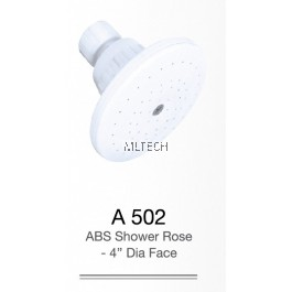 "A502 ABS Shower Rose - 4"" Dia. Face"