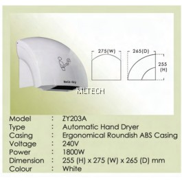 ZY203A - Automatic Hand Dryer