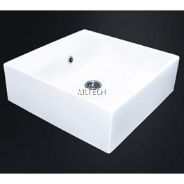 EZYFLIK TEMPLER (C29) Square Counter Top Basin
