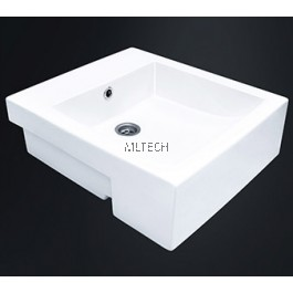 EZYFLIK GREENIER (C24) Square Semi-Recessed Basin