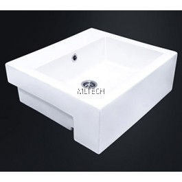 EZYFLIK WALTER (C22) Square Semi-Recessed Basin