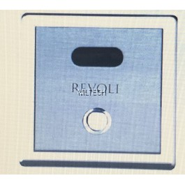 Revoli REV.10.02MBDC Concealed Box Type Sensor Urinal Flush Valve c/w Manual Over-Riding Button (DC Operated)