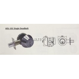 Deadbolt Lock - ADL-101 Thumbturn and Key Deadbolt