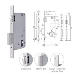 Mortise Lock - Mortise Roller AML-8560/MR