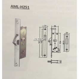 Mortise Lock - AML-H251