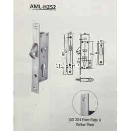 Mortise Lock - AML-H252