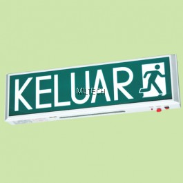 SE-908FPE FLUORESCENT TUBE SELF-CONTAINED EMERGENCY KELUAR SIGN
