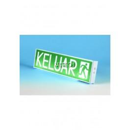 Self-Contained Emergency Keluar Sign - PEX-215LED