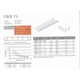 U-LI Wire Cable Tray FWB 75