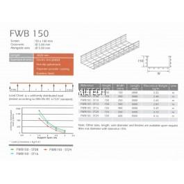 U-LI Wire Cable Tray FWB 150