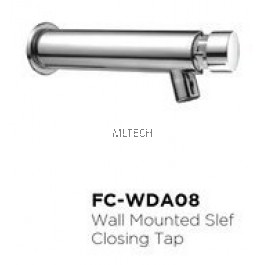 Novatec Self-Closing Tap Series Wall Mounted Self-Closing Tap - FC-WDA08
