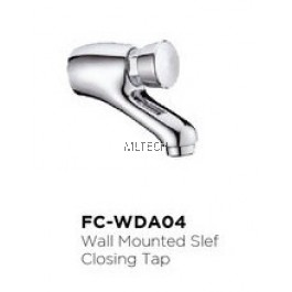 Novatec Self-Closing Tap Series Wall Mounted Self-Closing Tap - FC-WDA04