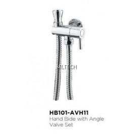 Novatec Hand Bidet with Angle Valve Set - HB101-AVH11