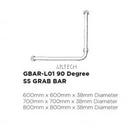 Novatec Grab Bar Series 90 Degree SS Grab Bar