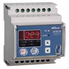 Mikro DIN Rail Earth Leakage Relay - DIN310-230A