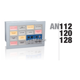 Mikro Programmable Alarm Annunciator 12 Windows c/w RS 232 30/110 VDC - AN112