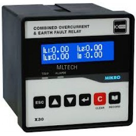 Mikro X-Series Combined OCEF Relay - X30-OCEF-240AD
