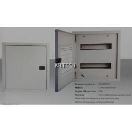 Red V16 Metalclad - Din Rail Type - Power Distribution Box - V16/1X13 / V16/2X13 / V16/3X13 / V16/4X13
