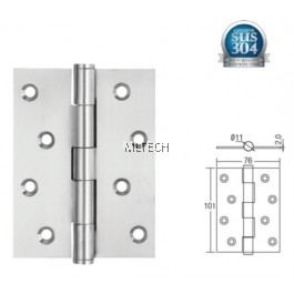 "Door Hinges - SGDH-743020-SS 4"" x 3"" x 2mm SUS304 Stainless Steel Hinge"