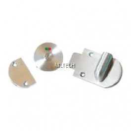 Cubicle Accessories - Stainless Steel Latch Indicator Lockset - S107