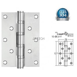 "Door Hinges - SGDH-753030-AB 4BB 5"" x 3"" x 3mm SUS304 Hinge"
