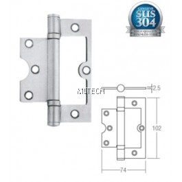 Door Hinges - Stainless Steel Bi-fold Hinge