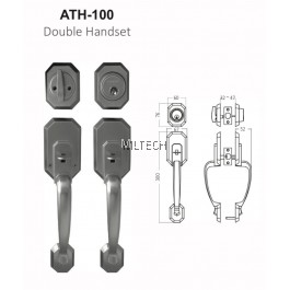 ARMOR - Matt Series - ATH-100 Double Handset