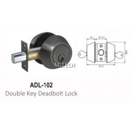 ARMOR - Matt Series - ADL-102 Double Key Deadbolt Lock