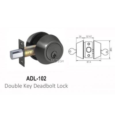 ARMOR - Matt Series - ADL-102 Double Key Deadbolt Lock