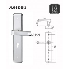 ARMOR - Lever Handle with Plate - ALH-B3365-2