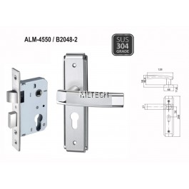 ARMOR - Lever Handle with Plate - ALM-4550/B2048-2