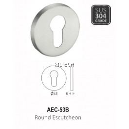 ARMOR - AEC-53B Round Escutcheon