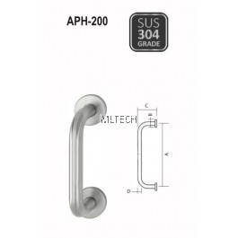 ARMOR - Pull Handle - APH-200 (150mm / 229mm)