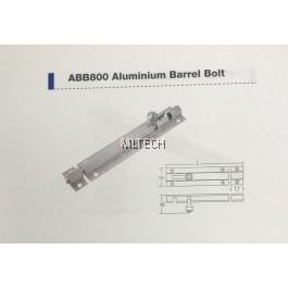Door Fitting Acc - ABB800 Aluminium Barrel Bolt