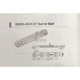 """Door Fitting Acc - SGDB-8606 6"""" Barrel Bolt"""
