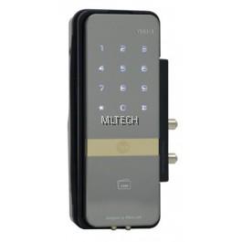 Yale YDG313 - Proximity Card Key / Remote Control / Keypad Digital Lock for Glass Doors (Rim Lock)
