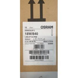 OSRAM DULUX-D PLC 18W/840 2P G24d-2