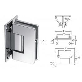 SGWGH-GH211 Wall to Glass (90º)