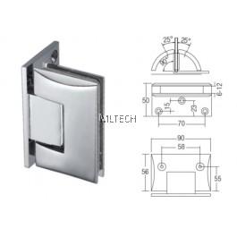 SGWGH-GH225 Wall to Glass (90º) Side