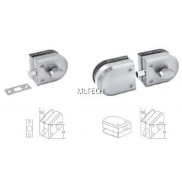 EZWGA-GL604 'Enzo' Glass Lock (Single / Double)